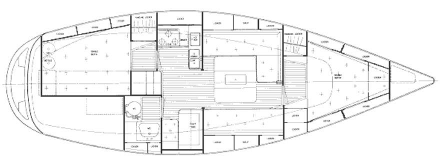 Dawn Treader HR34 layout