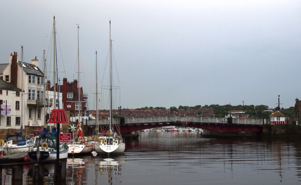 Swing bridge Whitby harbour