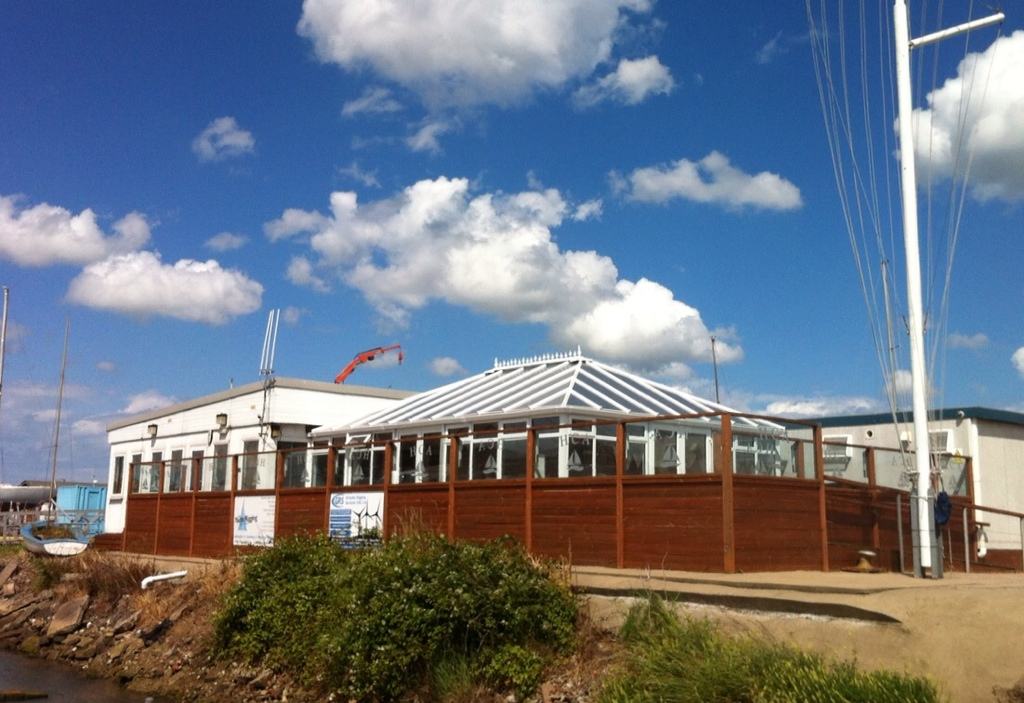 The friendly Humberside Cruising Association clubhouse
