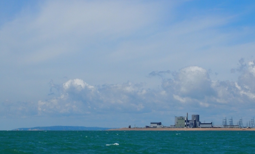 Dungeness Point - with the false Beachy Head in the distance