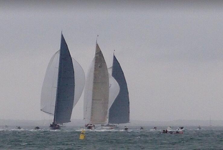 J Class racing in the Solent