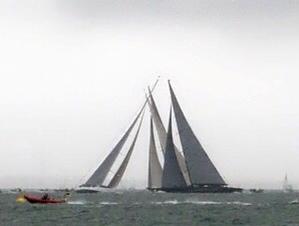 Crossing J Class yachts