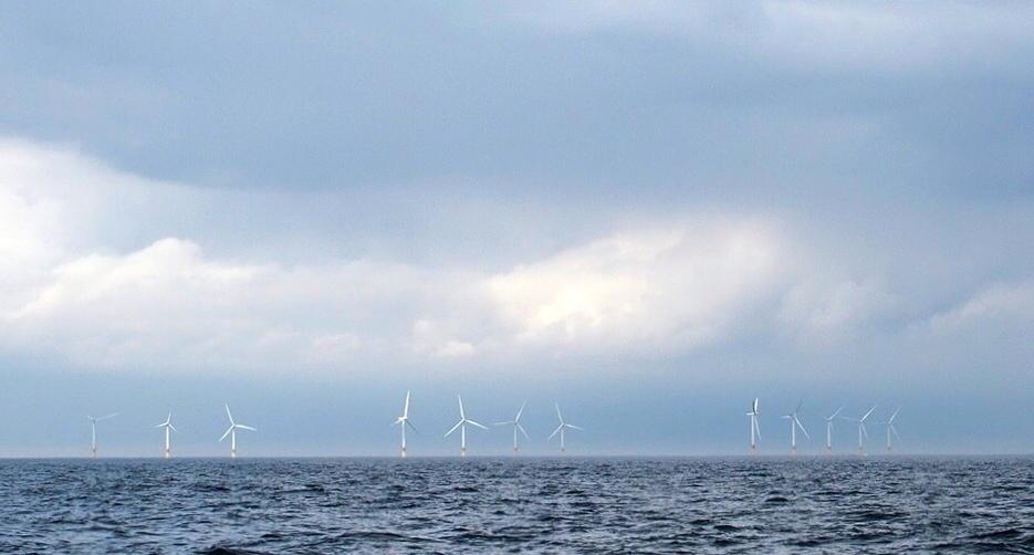 Wind farm off Norfolk