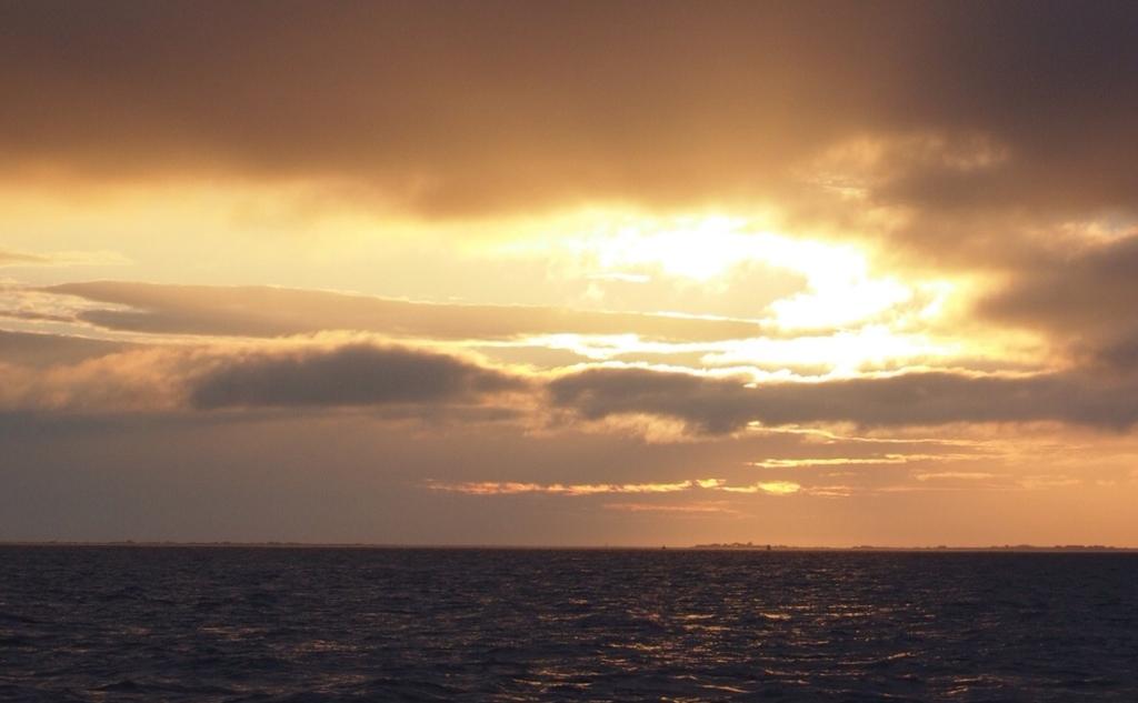 Sunrise over the Humber Estuary