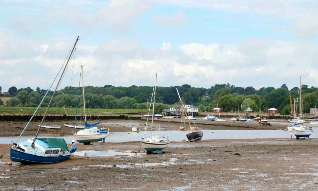All dried out, Woodbridge, Suffolk